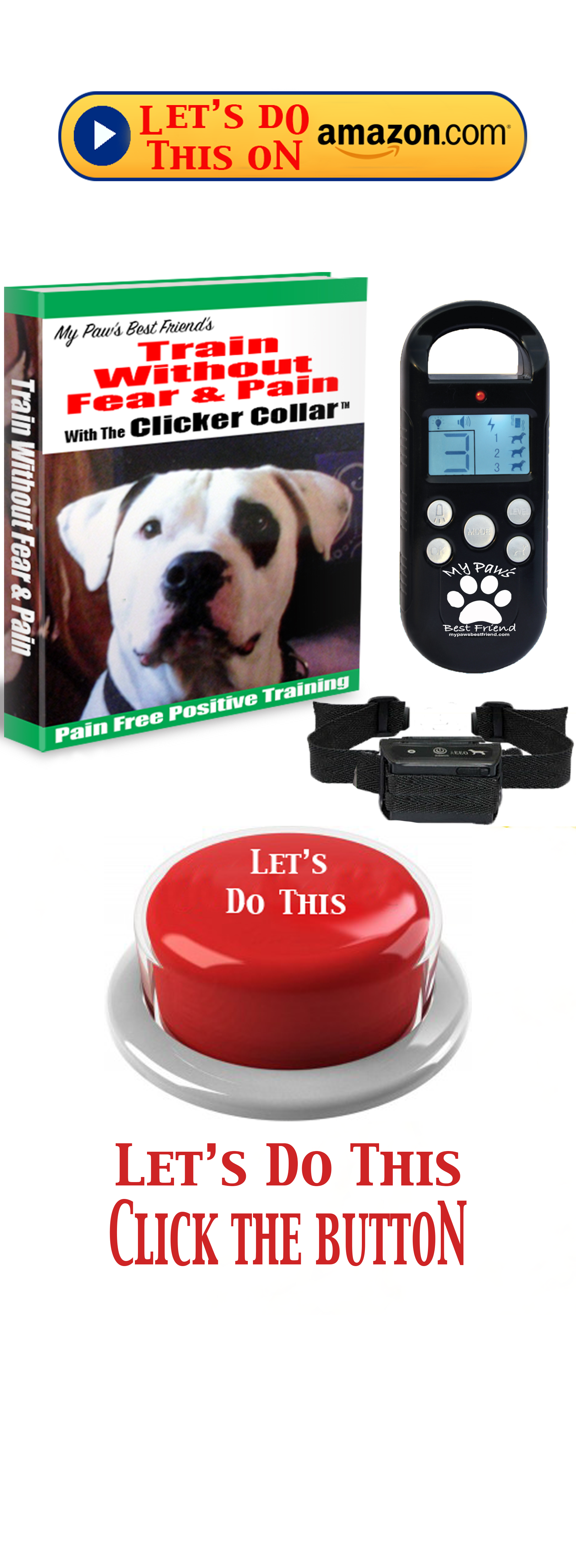 Link to buy the dog training collar that teaches you how to stop a dog from barking